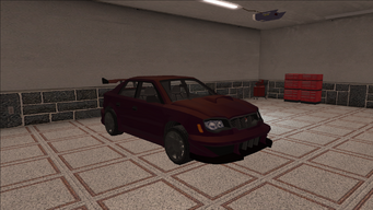 Saints Row variants - Voxel - Racer 01 - front right