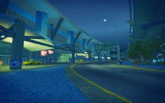 Wardill Airport building - exterior taxi area
