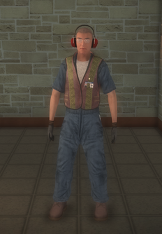 Baggage - white - character model in Saints Row 2