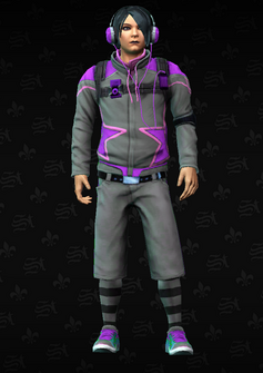 Gang Customization - Decker 6 - Homer - in Saints Row The Third