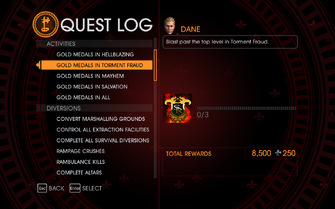 Gat out of Hell Challenge - Gold Medals in Torment Fraud