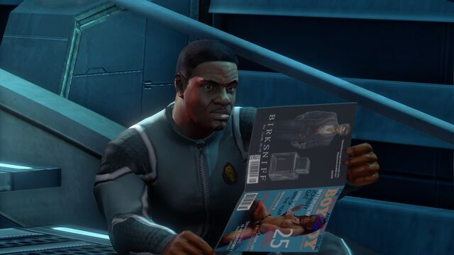 File:Keith reading a Boy Toy magazine on The Ship.jpg