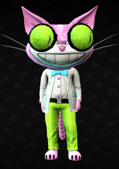 Mascot01 - Professor Genki - character model in Saints Row The Third