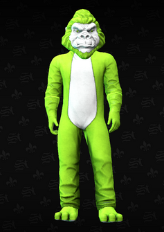 Mascot09 - Gorilla - character model in Saints Row The Third