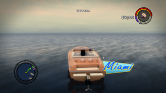 Miami - rear with logo in Saints Row 2