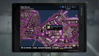 Penthouse Loft - map marker