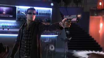 Playa in the Saints Row The Third Power CG trailer