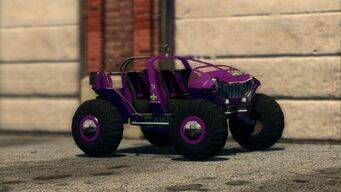 Saints Raider - front right in Saints Row The Third