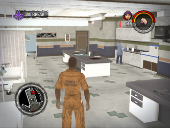 Saints Row 2 correct standard aspect ratio - low settings
