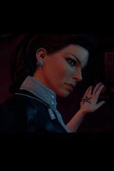 Shaundi - star tattoo on hand in Saints Row The Third
