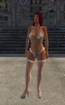 Stripper - Latina - Cutscene - character model in Saints Row