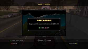 Taxi Service - Purchasing