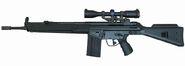 Hecker and Koch HK41 Rifle