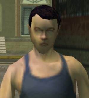The Man Closeup Image