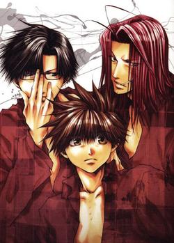 Hakkai Goku Gojyo Reload Youkai 01