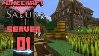 Minecraft Sakura II Server E01 Spellspire Farms