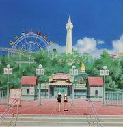 Tomoeda theme park