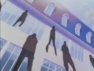 Sombras en la escuela