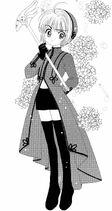 Traje de Flores Rosa (Manga)
