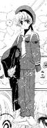 Li con el uniforme manga