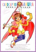 Cardcaptor Sakura Calendar 2000 (A)