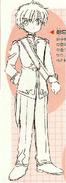Artwork original vestuario de obra syaoran