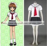 Card-Captor-Sakura-Girls-Summer-School-Uniform-Cosplay-Costume
