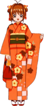 Yukata Naranja