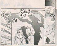 Aparición de Sombra (manga)