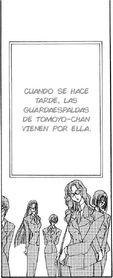 Guardaespaldas de Tomoyo en el manga