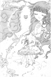Sakura escuchando el canto de Tomoyo