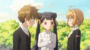 EP13cch Sakura, Syaoran y Meilin