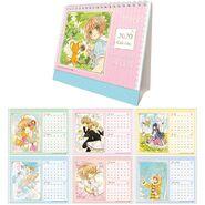 CardCaptors Sakura: Clear Card Hen Calendario de Escritorio 2020