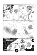 Primer encuentro Kero y Syaoran (manga)