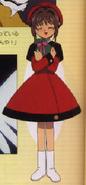 Vestido de osito anime