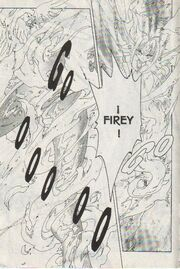 Transformación de Fuego (manga)