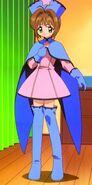 Vestido Azul y Rosa 2