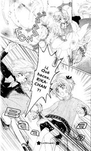 Rika controlada por Espada (manga)