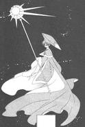 Traje de eriol en el manga