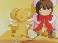 Kero y la muñeca de sakura