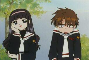 Tomoyo and Syaoran