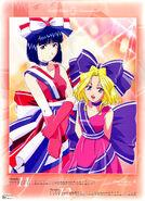 Sakura Taisen IV 2003 Calendar Nov & Dec