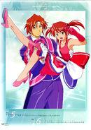 Sakura Taisen IV 2003 Calendar May & Jun