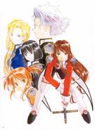 Sakura Wars 3 Erica Paris Combat Revue