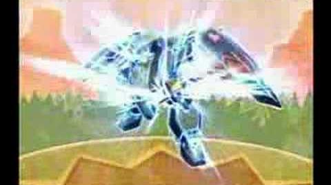 Sakura Wars V - Rikaritta Aries' attacks (Shooting Star)