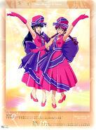Sakura Taisen IV 2003 Calendar Sep & Oct