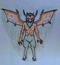 Demon 1 by Dahrinn on Iwaku