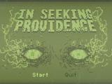 In Seeking Providence