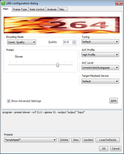 Megui-x264-creating-a-preset-1