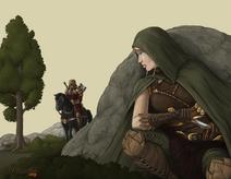 Elven Scout by Santiago Iborra